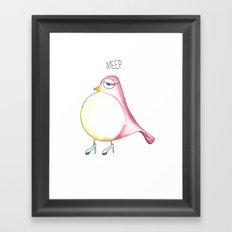 Meep Framed Art Print