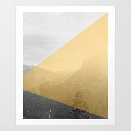 NEON NATURE | Orange Art Print