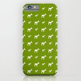 Llama 1- Green iPhone Case