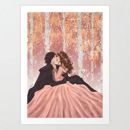 Lovelier Than Life Art Print