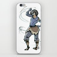 fierce iPhone & iPod Skins featuring Fierce by Lalou