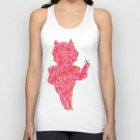 devil Tank Tops featuring Devil by Guice Mann