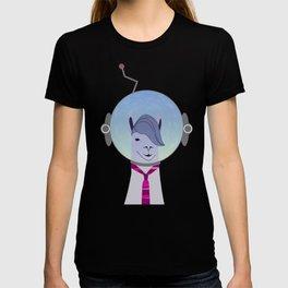 Unique Lama Astronaut Design T-shirt
