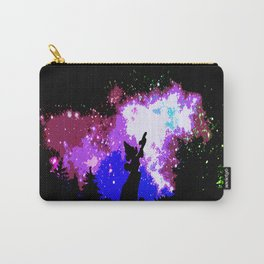 starry night  smurf Carry-All Pouch