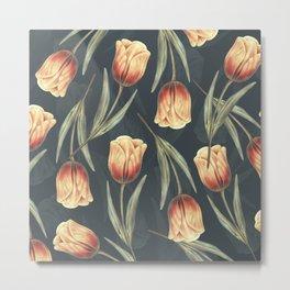 Tulipa pattern 1 Metal Print