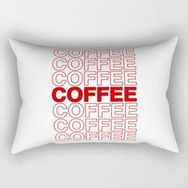 Coffee Coffee Coffee Rectangular Pillow