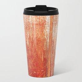 Metallic Face (Red Version) Travel Mug