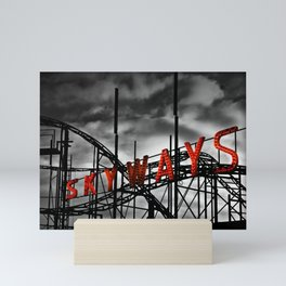 SKYWAYS Roller Coaster Mini Art Print