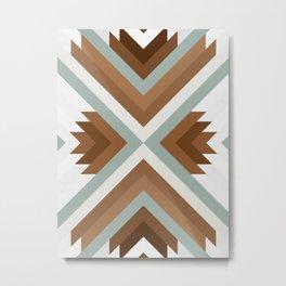 Dynamic Geometry 01 Metal Print