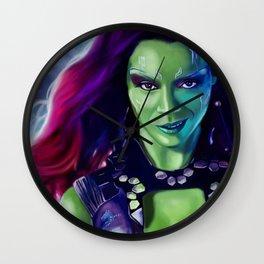 Gamora Wall Clock