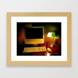 Days Of Homework - Graphic 1 Framed Art Print