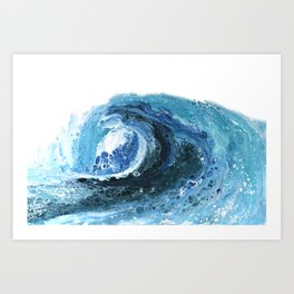 Breaking Wave Art Print