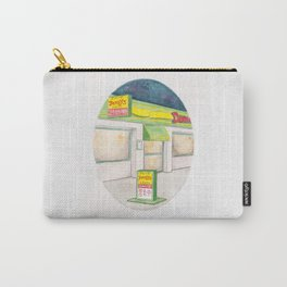Haruki Murakami's After Dark Watercolor Illustration Carry-All Pouch