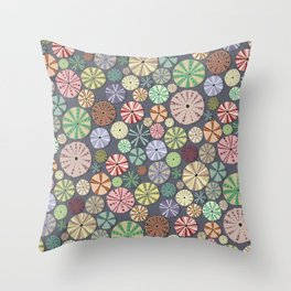 Sea Urchins - Pattern Throw Pillow