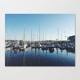 Newport, Rhode Island boats Canvas Print