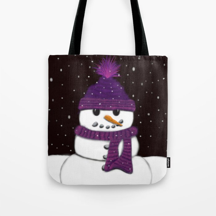 The Armless Snowman Tote Bag