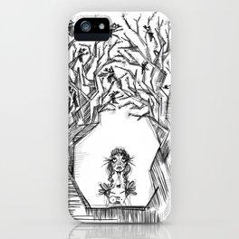 Recuerdo de una infancia perdida iPhone Case