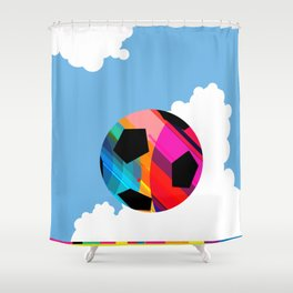World Cup Soccer Shower Curtain