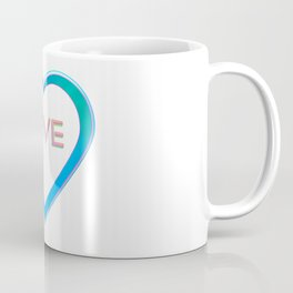 Love Heart Coffee Mug