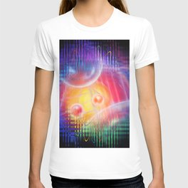 Abstract in perfection 113 - Space and time T-shirt