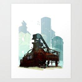 Forgotten Fuels Art Print