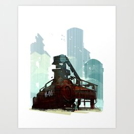 Forgotten Fuels Art Print