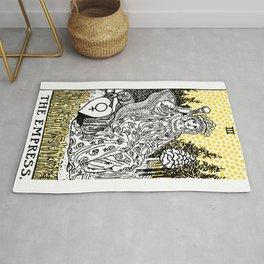 Modern Tarot Design - 3 The Empress Rug