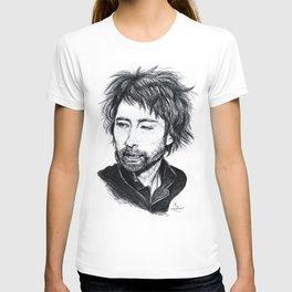 Thom Yorke [Radiohead] T-shirt