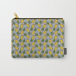 Polka Pinapples Carry-All Pouch