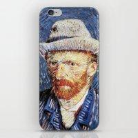 van gogh iPhone & iPod Skins featuring Van Gogh  by klausbalzano
