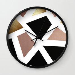 Colorblock Wall Clock