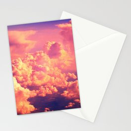 The Clouds at Sunset Stationery Cards