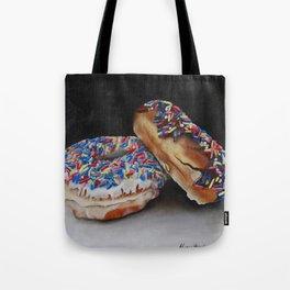Donuts with Sprinkles Tote Bag