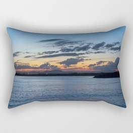 Sunset in Australia Rectangular Pillow