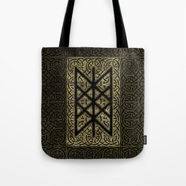 Web of Wyrd  -The Matrix of Fate Tote Bag