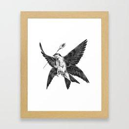 House Martin Framed Art Print