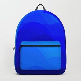 Blue Waves Backpack