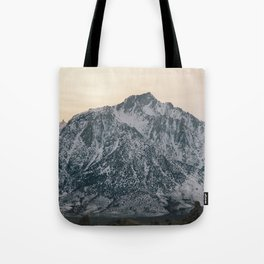 Mt. Whitney at Sunset Tote Bag