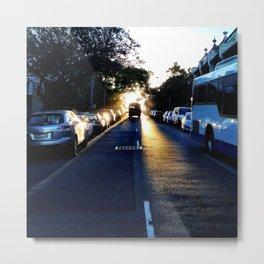 Morning glow. Metal Print