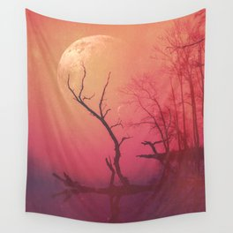 Red Mist Wall Tapestry