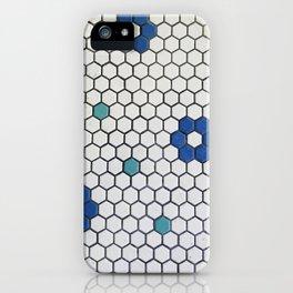 Historic Hexagons iPhone Case