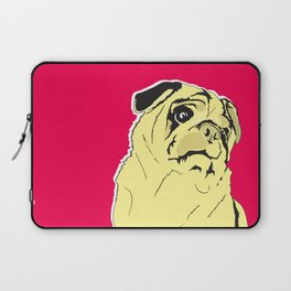 Shmoo the pug Laptop Sleeve