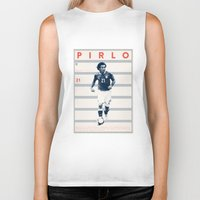pirlo Biker Tanks featuring Pirlo by Dylan Giala
