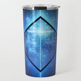 A Star Will Guide You Through the Dark of Winter Travel Mug