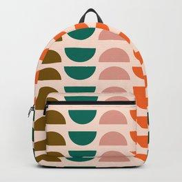 Retro 70s Geometrics Backpack