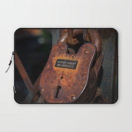Rusty Lock Laptop Sleeve
