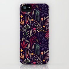 Botanical pattern Slim Case iPhone (5, 5s)