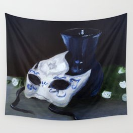 Masked Wall Tapestry