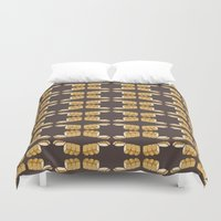 bread Duvet Covers featuring bread by Jaeyun Woo
