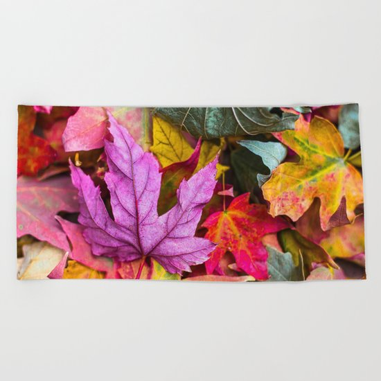 Indian Summer 4 Beach Towel